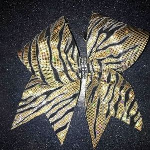 Accessories - New bling All Star cheer bow tiger